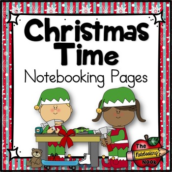 Christmas Time Notebooking Pages