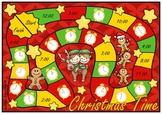 Christmas Time O'Clock Board Game