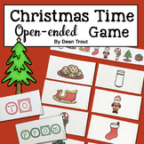 Christmas Time Open-Ended Game Speech Therapy