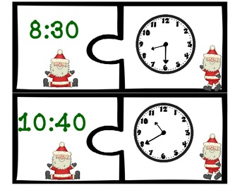 Christmas Telling Time