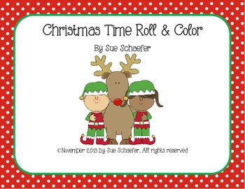 Christmas Time Roll & Color