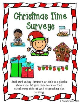 Christmas Time Surveys