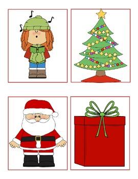 Christmas Time Syllable Work