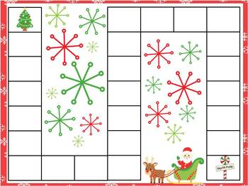 "Christmas ""Time"" Telling Time Math Center"