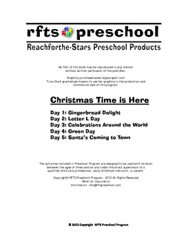 Christmas Time is Here  {5-day Thematic Unit}