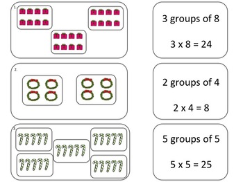 Christmas Time is Here Multiplication Activities