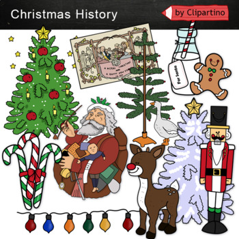 Christmas Timeline Clipart