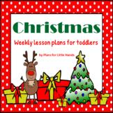 Christmas Toddler Lesson Plan