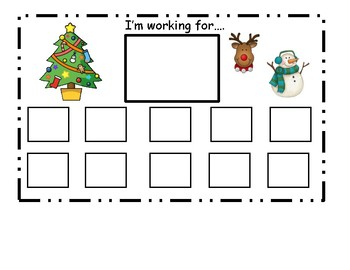 Christmas Token Board