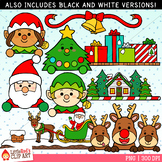 Christmas Toppers Clip Art