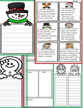 Christmas Response to Literature Writing Display &  More!