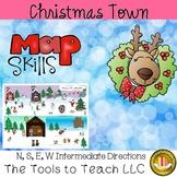 Christmas Town Map Skills Social Studies English Language Arts Center Station