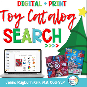 christmas toy catalog companion for speech language
