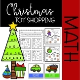Christmas Toy Shopping {Counting Coins up to $2.00 MATH CENTERS}