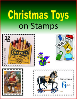Christmas Toys on Stamps