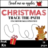 Christmas Trace the Path {Fine Motor Skills}