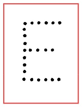 Christmas Traceable Letter Word Puzzles. No Prep!
