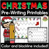 Christmas Pre-Writing Printables