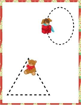 Christmas Tracing Activities