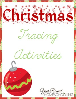Christmas Tracing Activities