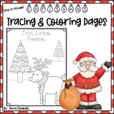 Christmas Tracing Activity Pages