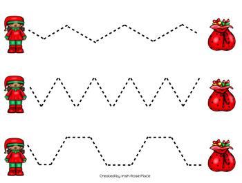 Christmas Tracing Sheets