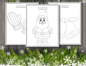 Christmas Tracing for Preschool - Christmas Activities for Preschool