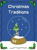 Christmas Traditions in my Family Class Book for Grades K to 3