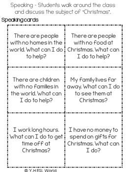 Christmas Around the World - ESL Reading Comprehension Activities
