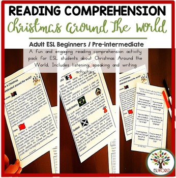 Christmas Traditions Around The World {ESL Reading comprehension}