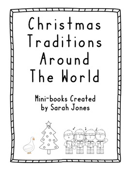 Christmas Traditions Around the World Mini-books