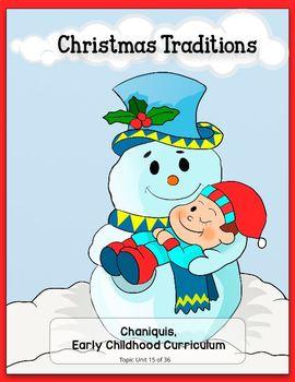 Christmas Traditions (Kindergarten Topic Unit 15)