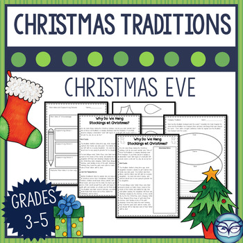 Things To Do On Christmas Eve.Christmas Traditions Reading Passage Why We Do Special Things On Christmas Eve