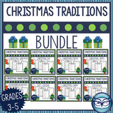 Christmas Traditions Reading Passages and Activities Bundle