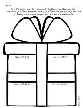 Christmas Traditions Writing