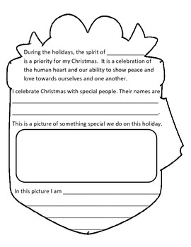 Christmas Traditions and Symbols Booklet
