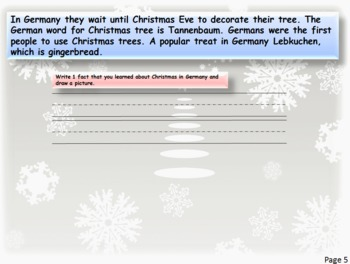 Christmas Traditions around the World PowerPoint