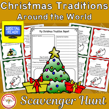 Christmas Traditions around the World Scavenger Hunt