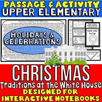 Christmas Reading Passage and Questions: Traditions at the White House
