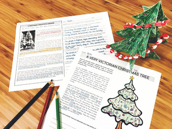 Christmas Traditions in Victorian England Activities for 3rd 4th 5th grades
