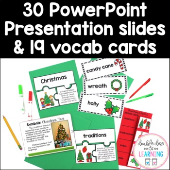 Christmas Traditions in the U.S. Research Unit with PowerPoint