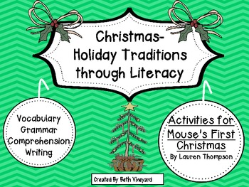 "Christmas Traditions through Literacy ""Mouse's First Christmas"" Shared Reading"
