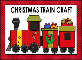Christmas Train Craft