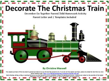 Santa Express Christmas Train Do Together Parent/Child Hom
