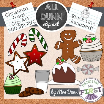 Christmas Treat Clip Art