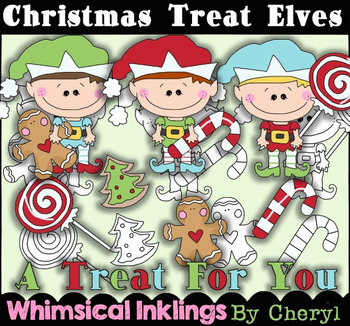 Christmas Treat Elves RESELLERS LIMITED SET