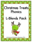 Christmas Treats Phonics: L-Blends Pack