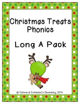Christmas Treats Phonics: Long A Pack