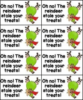 Christmas Treats Phonics: Long Vowel Bundle