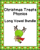 Christmas Treats Phonics: Long Vowel Bundle